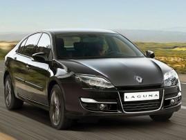 Renault Laguna с новым лицом