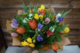 Сборные букеты цветов
