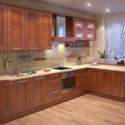 Где в Москве заказать кухонный гарнитур из массива?